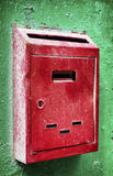 Old letterbox. Old rusty letterbox - close up Royalty Free Stock Images