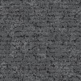 Old lettering seamless texture. On rustic paper Stock Photos