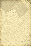 Old letters. As a background Stock Image