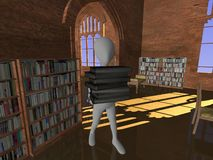 Old library Royalty Free Stock Photo