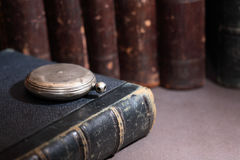 Old Library Background Royalty Free Stock Photography