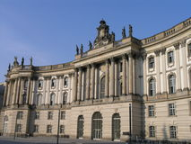 Old library of Berlin Royalty Free Stock Image
