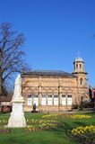 Old library building, Lichfield. Stock Photo