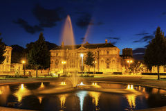 Old library on Place de Verdun in Grenoble Stock Photography