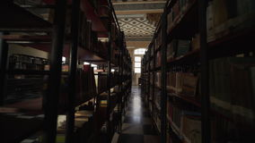 Old library in trinidad town stock video