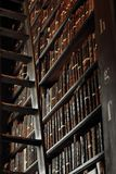 Old Library in Trinity College stock photos