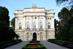Old library of the Warsaw University Stock Photo