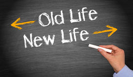 Old life and new life Stock Photography