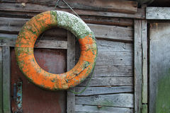 Old lifebuoy Royalty Free Stock Image