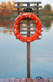 Old lifebuoy Stock Photos