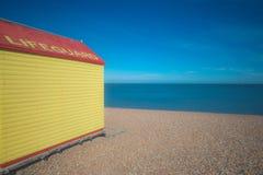 Old Lifeguard Hut Stock Photos