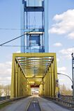 An old lift bridge in Hamburg Stock Photos