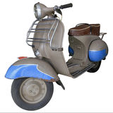Old light brown scooter stock photos