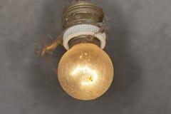 Old light bulb stock photography