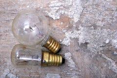 Old Light bulbs Stock Photos