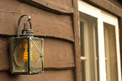 Old Light Fixture Stock Photography