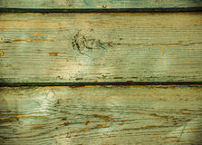 Old light-green wooden background/texture in rustic style. Royalty Free Stock Photography
