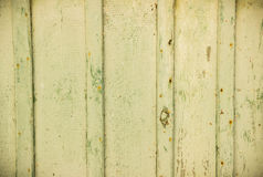 Old light-green wooden background/texture. Royalty Free Stock Photos