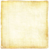Old Light Paper. Vintage aged with worn edges light brown ribbed paper texture great for background designs Stock Photos