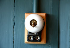 Old light switch Royalty Free Stock Photos