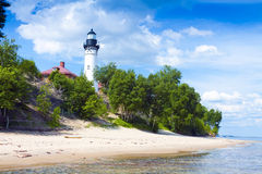 Old Lighthouse Royalty Free Stock Photos
