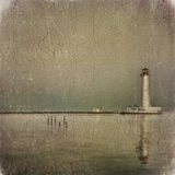 Old lighthouse Stock Images