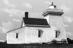 Old Lighthouse. Retro photo from a restored 1920's negative. Great for a restaurant wall stock photography