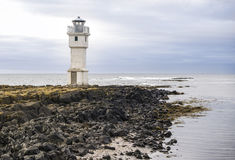 Old lighthouse, Akranes, Iceland Royalty Free Stock Photos