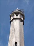 Old Lighthouse on Alcatraz Island Stock Photos