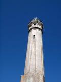 Old Lighthouse on Alcatraz Island Stock Images