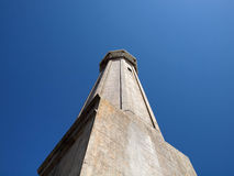 Old Lighthouse on Alcatraz Island Royalty Free Stock Photo