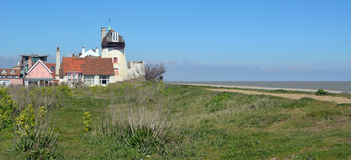 Old Lighthouse Aldeburgh Beach Royalty Free Stock Photography