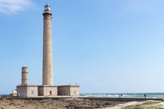 The old Lighthouse of Barfleur, France, Normandy 2015 Stock Images