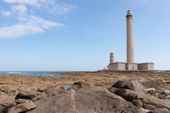 The old Lighthouse of Barfleur, France, Normandy 2015 Stock Photography