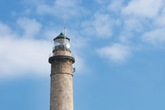 The old Lighthouse of Barfleur, France, Normandy 2015 Stock Photos