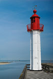 Old lighthouse Beacon Tower Stock Photos