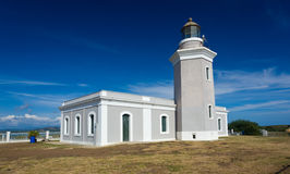 Old lighthouse at Cabo Rojo Royalty Free Stock Photos