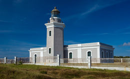 Old lighthouse at Cabo Rojo stock photo
