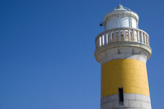 Old lighthouse of Cannes Royalty Free Stock Photo