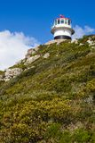 The old lighthouse at Cape Point Stock Photos