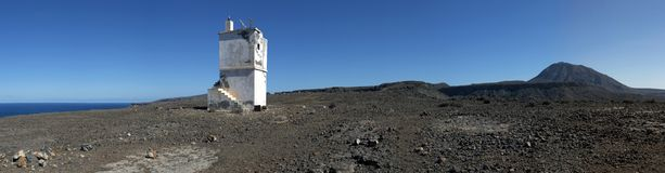 Old lighthouse, Cape Verde Royalty Free Stock Photos