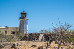 Old lighthouse in the coast. Madagascar Royalty Free Stock Photo