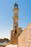 Old lighthouse. Crete Stock Photos