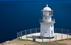 Old lighthouse in Crimea, Ukraine stock images