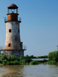 Old Lighthouse in The Danube Delta Stock Photos