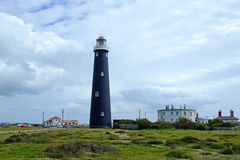 The Old lighthouse, Dungeness, Kent. Royalty Free Stock Images
