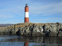 Old lighthouse. In the end of the world, Ushuaia Argentina Stock Image
