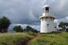Old lighthouse at Fingal Head Stock Photos