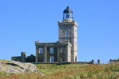 The old Lighthouse, Isle of May Stock Images