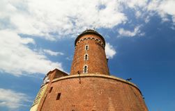 Old lighthouse in Kolobrzeg, Poland Royalty Free Stock Images